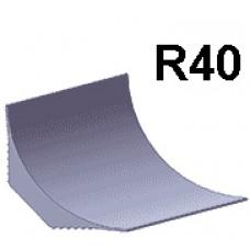 Плинтусная галтель  R=40мм L=2,7м