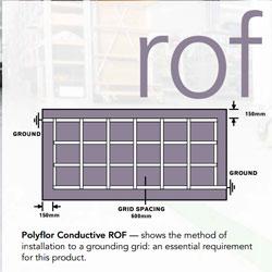 Основные методы монтажа антистатической системы напольного покрытия