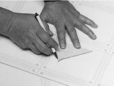 Методика выполнения V-ОБРАЗНОГО ШВА наружного угла при заведении напольного покрытия на стену